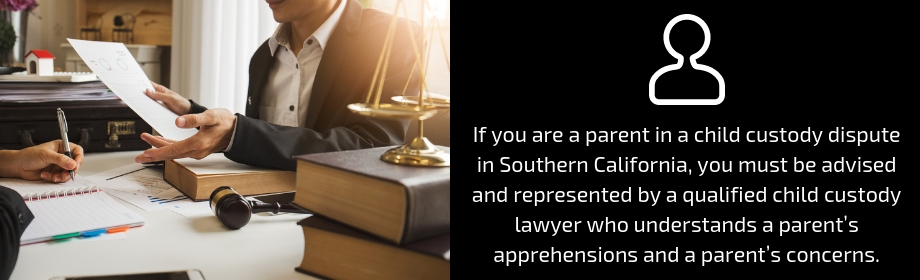 family lawyer providing advice