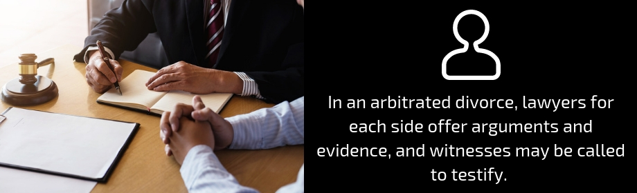 arbitration in a divorce